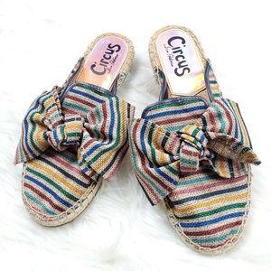 Circus by Sam Edelman Shoes - Circus by Sam Edelman Rainbow Stripes Lulu Mules
